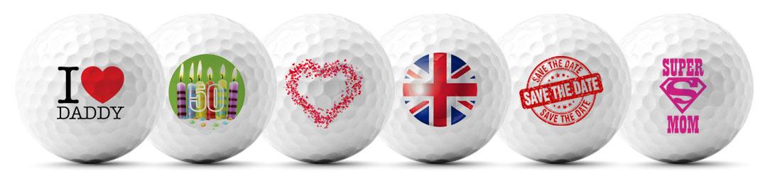 meer dan 50 afbeeldingen voor het bedrukken van golfballen