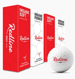 6 soft en 6 power golfballen