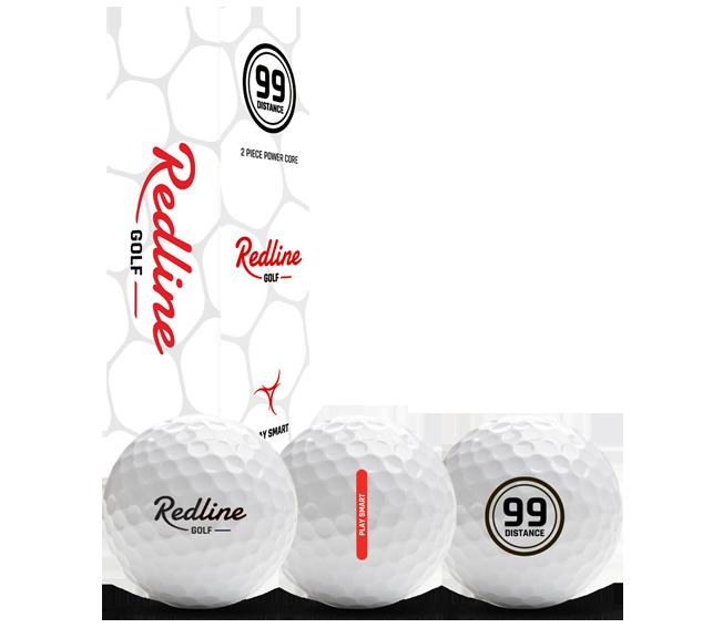 2P Distance Golfball Redline 99