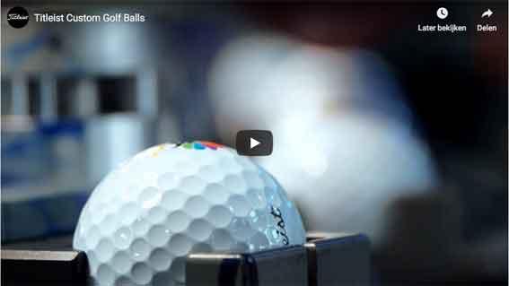 Golfbälle bedrucken über Tampondruck