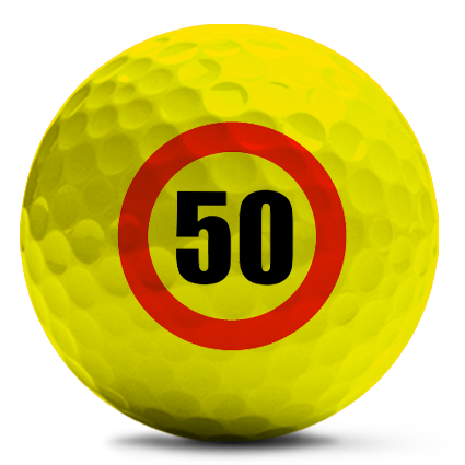 farbige Golfball bedruckt mit Photo, Logo oder Text